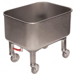 Cuve inox 80 litres pour atelier de production