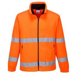 Polaire orange haute visibilité Essential