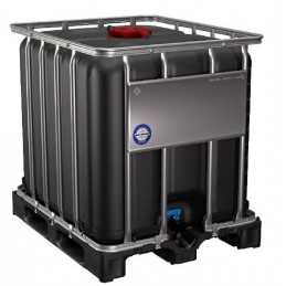 Conteneur IBC anti-UV 1200x1000 sur palette plastique UN