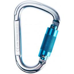 Mousqueton en Aluminium Twist Lock