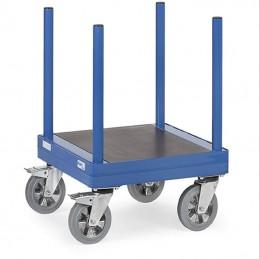 Chariot pour charges longues capacité de 1500 kg.