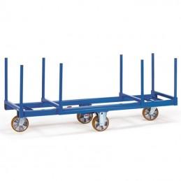 Chariot charge longue capacité 1500 kg
