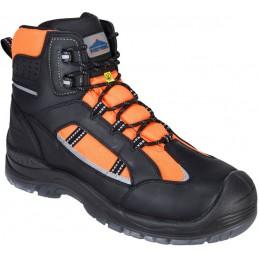 Chaussure montante orange Composite Retroglo haute visibilité S3 WR ESD