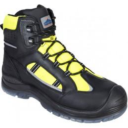 Chaussure montante jaune Compositelite Retroglo haute visibilité S3 WR ESD
