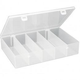 Boîte de rangement avec 5 compartiments