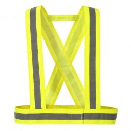 Baudrier jaune haute visibilité