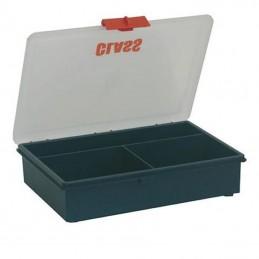 Boîte de rangement avec 3 compartiments fixes