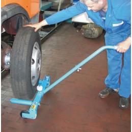 Chariot pour le montage de roues