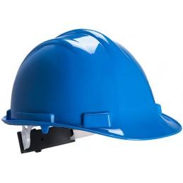 Casque de sécurité Expertbase à crémaillère Bleu Royal