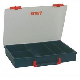 Boîte de rangement avec 5 compartiments fixes