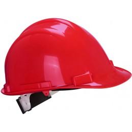 Casque de sécurité Expertbase à crémaillère rouge