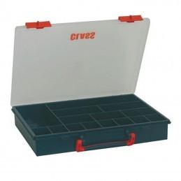 Boîte de rangement avec 15 compartiments fixes