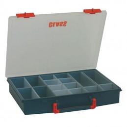 Boîte de rangement avec 16 godets amovibles
