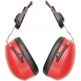 Coquilles anti-bruit Endurance Clip-On Rouge