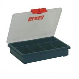 Boîte de rangement avec 5 cases fixes
