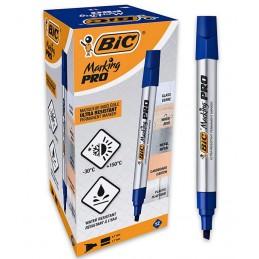 Marqueur permanent Bic Marking Pro bleu