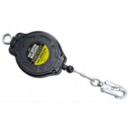 Antichute à rappel automatique de cable Noir