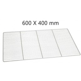 Grille inox 600x 400 mm euro léger