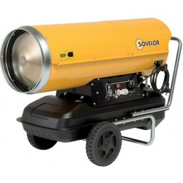Chauffage mobile fuel 65 Kw air pulsé