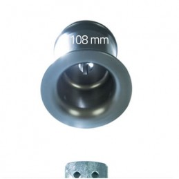 Tambour cabestan 108 mm pour treuil Portable Winch