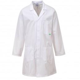 Blouse de laboratoire antimicrobienne