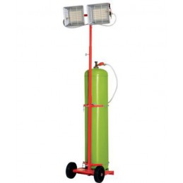 Chauffage radiant mobile 9200 Kw au gaz propane
