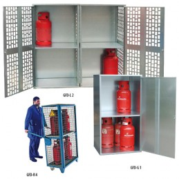 Dépôts pour bouteilles de gaz type GFD