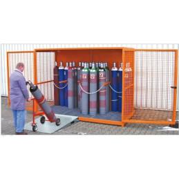 Box pour bouteilles de gaz type GFC