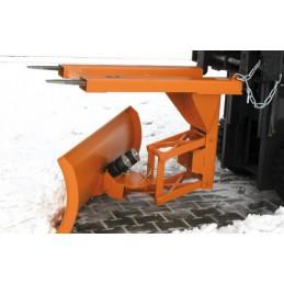 Lame chasse-neige avec compensation automatique