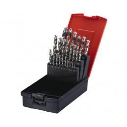 Jeu de mèches à métaux 25 pièces PROMAC
