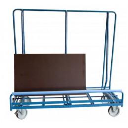 Chariot porte-panneaux grandes tailles sur 1 face de 600 kg