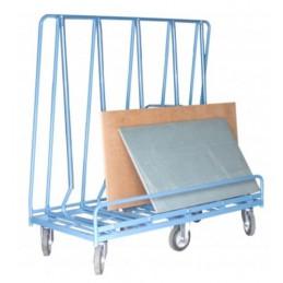 Chariot 1 face de chargement 1200 kg pour panneaux et baies