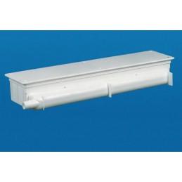 Boitier de condensation 530 x 113 x 65 mm écoulement horizontal