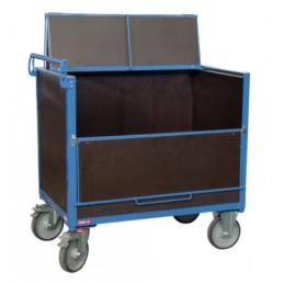Chariot conteneur 1000 x 700 mm 500 kg