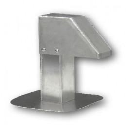 Passage aluminium 80x80 avec 1 sortie