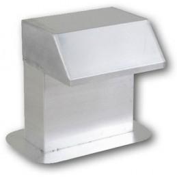Passage de toiture 500 x 200 mm aluminium passage large
