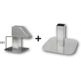 Passage de toiture réglable aluminium