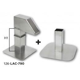 Kit passage de toiture réglable hauteur 600 mm