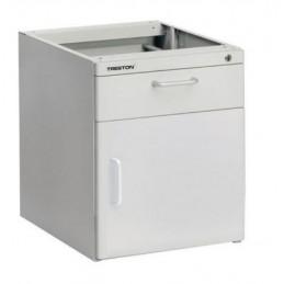 Caisson à tiroirs en acier léger LMC 1 armoire et 1 tiroir