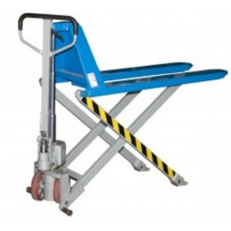 Transpalette haute levée industriel manuel 1000 kg