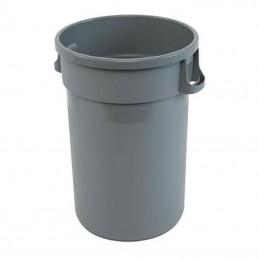 Conteneur 80 litres gris pour déchets