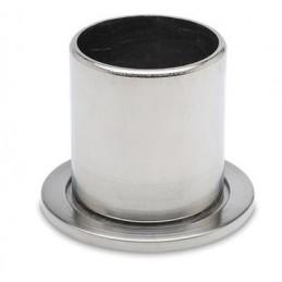 Rosace manchon inox diamètre 50.8 mm