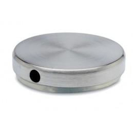 Embout de finition inox taraudé diamètre 50.8 mm