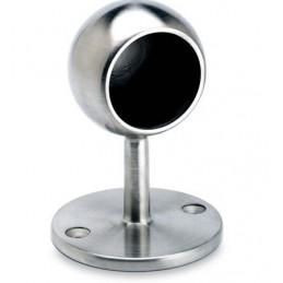 Support borgne arrondi inox diamètre 50.8 mm