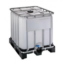 Conteneur IBC certifié UN 1000 litres sur palette plastique