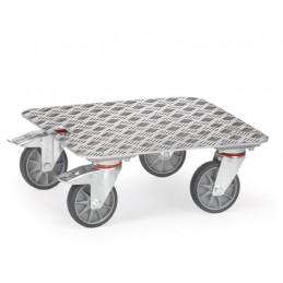 Rouleur avec plateau aluminium