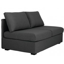 Chauffeuse double couleur anthracite