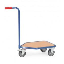 Chariot à col de cygne 200 kg avec plateau bois