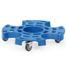 Rouleur pour transport et stockage de pneus.