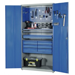 Armoire à outils pour atelier de maintenance